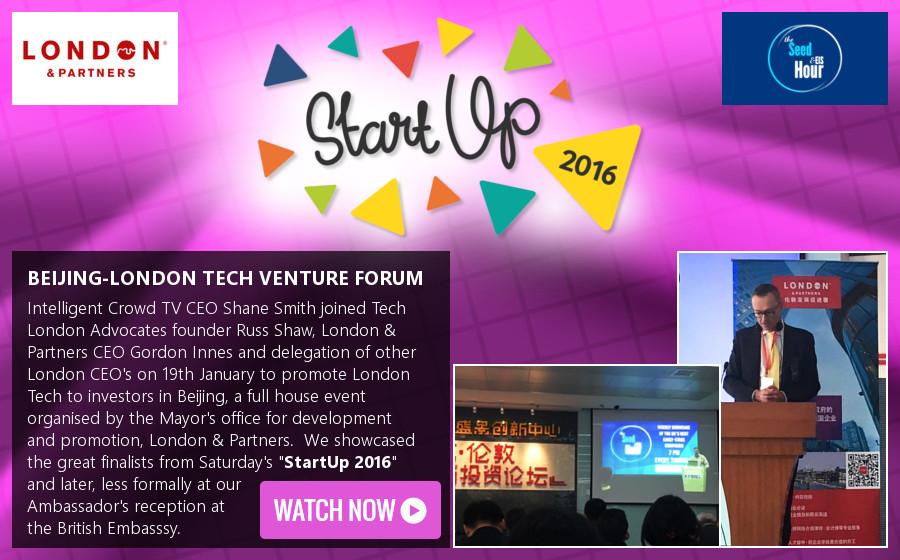 London Tech to Investor in Beijing