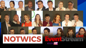 NOTWICS 23:  Save the Date: <br />The Next Installment of London's Leading <nobr>Start-Up Pitch Event</nobr>